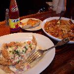 Softshell crab capri & Pasta Jambalaya