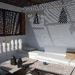 Plunge pool in Courtyard