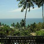Sea view from room balcony