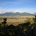 View of Mt. Princeton from rocks