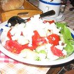 a Serbian salad