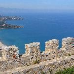 Baia di Cefalù dal castello della Rocca