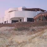 Osprey Inn from beach