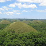lots and lots of Chocolate Hills!