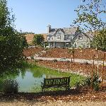 View of the Inn from the pond
