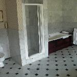 room 305 bathroom view