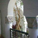 Detalle del arco del primr piso