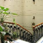 Top of staircase - Tanguera Hostel