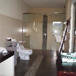 Phirus-3 bedroom villa - upstairs bathroom/two bedrooms share; no ensuite to second bedroom