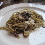 Pasta with Black Truffles and Bone Marrow Sauce