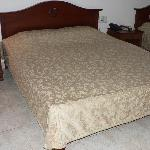 Large, firm bed