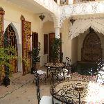 intérieur du Riad