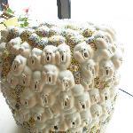 Ceramic Sculpture inside hotel