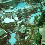 Pools - view from 23rd floor