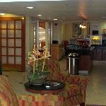 hotel's hall