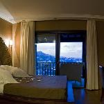 Beautiful bed room with marvellous view.