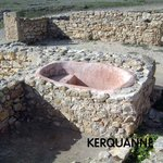 A Punic Hip Bath there is agreat museum on the site