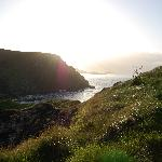 Sunset at Kinbane