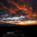 Sunrise over Mount Kenya