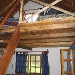 """Upper level of """"dorm"""" room"""