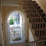 Bright hallway/stairwell