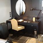 Writing bureau in the suite