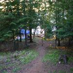Campsite #4... down a little hill