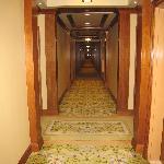Rose Hotel hallway