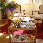 El desayuno en la habitación un pequeño lujo