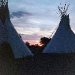 Sunset on the Little Bighorn