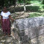 Tour Guide at Annie Palmer's Tomb
