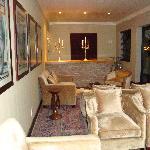 inside lounge area