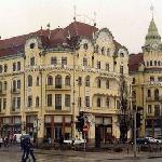 Il Palazzo Aquila Nera è il simbolo della città