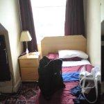 Bedroom, just after arriving