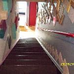 Stairs from third floor