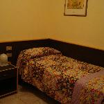 Chambre single de l'hôtel Primavera