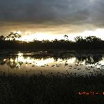 Sunset at Jabiru Safari Lodge
