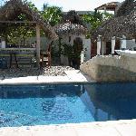 Quinta Lili, pool and common area