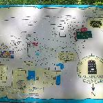Map of the area on display