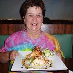 Donna's Salmon at BBQ Inn