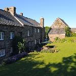 Erth Barton's terraced garden