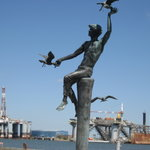 Lovely Statue down by the harbor