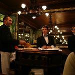 The waiters at Lipp