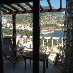 View to Kalkan from room