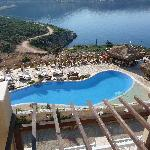 View to Kalkan from balcony