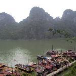 A beautiful Halong Bay scenery