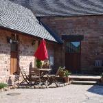 outside Dormouse cottage