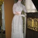 Victorian white summer gown