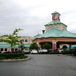 Casino und Hotel direkt nebeneinander