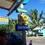 Saltwater Cafe sign